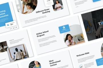 This premium training template is from Envato Elements.