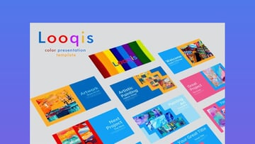 Looqis Color Presentation template