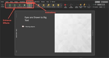 How to animate a bullet point.
