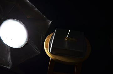 Light controlled setup