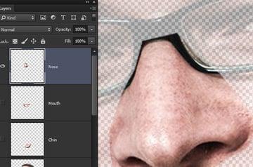 Create a nose layer