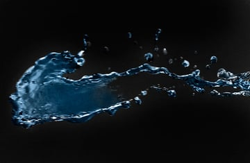 Water at slow shutter speed