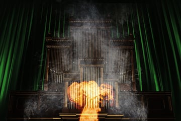 Add more smoke to the throne room setting