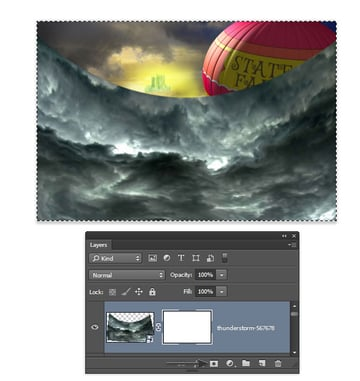 Copy the layer pixels then add a layer mask