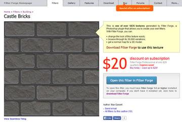 Download the Castle Bricks filter