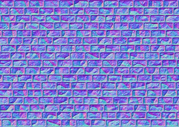 the normal map