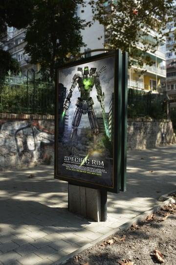 Movie Poster mockup