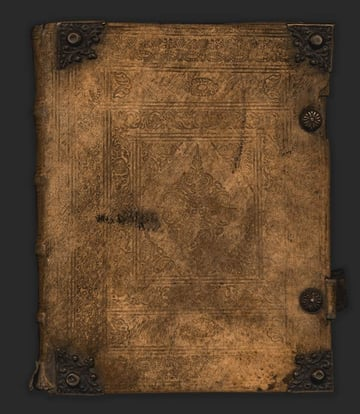 Vintage Book Leather Cover Texture
