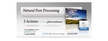 Natural Post Processing Actions