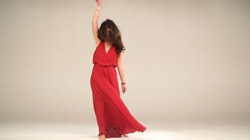 Prestigious Elegant Red Dancer