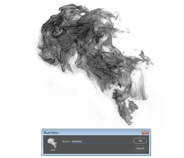 Create the brush in Photoshop