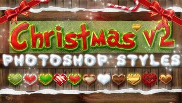 Christmas Photoshop Styles V2