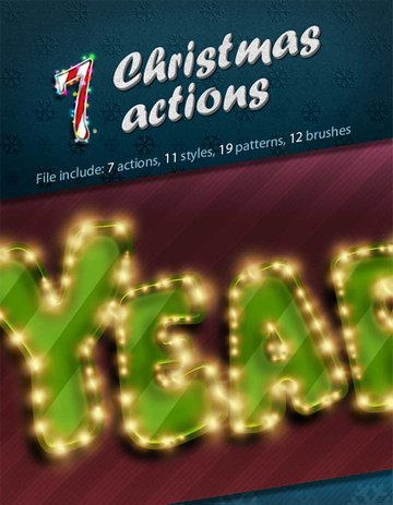 7 Christmas Actions