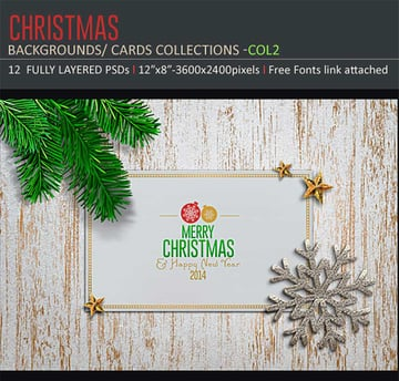 Christmas Backgrounds-Cards -Col2