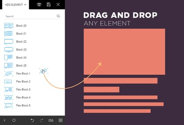 Newspaper WordPress Theme Drag and Drop Elements with the tagDiv Composer page Builder