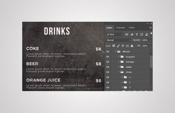 drinks layers group