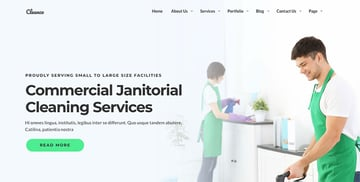 Cleanco 3 - Cleaning Service Company WordPress Theme
