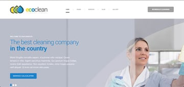 EcoClean - House Cleaning Company WordPress Theme