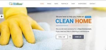 We Clean - Cleaning Services WordPress Theme