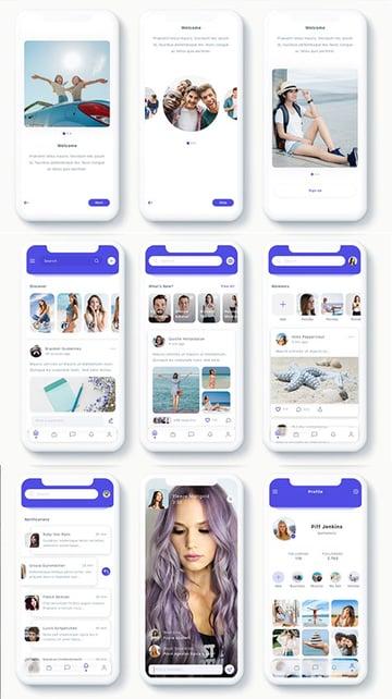 Susen - Social Network App UK Kit