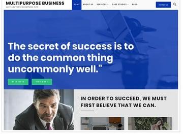 Multipurpose Business Free WordPress Theme