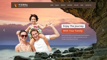Vierra - Hotel Resort Inn  Booking WordPress Theme