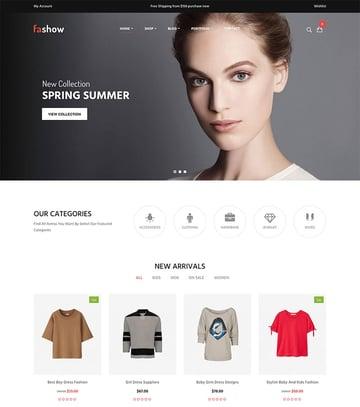 Fashow - Minimal and Modern WooCommerce Fashion Theme