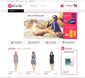 KuteShop - Fashion Electronics  Marketplace WooCommerce Theme RTL Supported