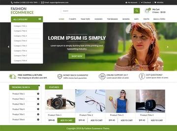 LZ Fashion Ecommerce Free WordPress Theme