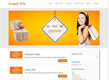 Coupon Free WordPress Theme
