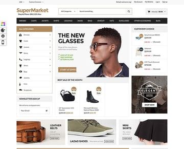 Supermarket  Deal - Responsive Magento theme