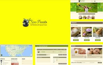 Spa Treats - Yoga and salon Shopify Theme