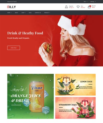 Billy - Food Drink Store Shopify