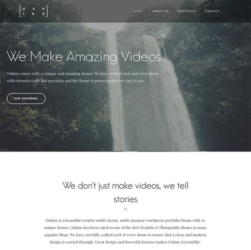 Oshine - Multipurpose Creative WordPress Theme