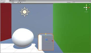 Global Illumination - Box mesh