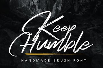 Keep Humble Font for iPad and iPhone