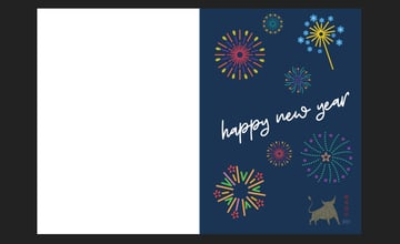 Affinity Designer Template Greeting Card Front Finished