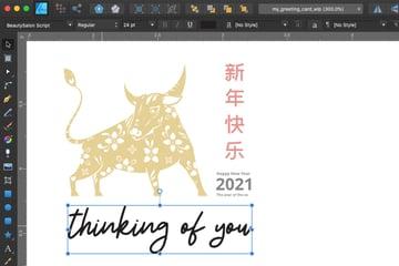 Affinity Designer Greeting Card Font Back