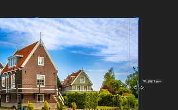 Affinity Publisher Real Estate Postcard Crop Photo