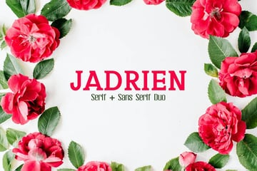Jadrien Duo Envato Elements Font