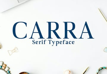 Carra Serif Typeface