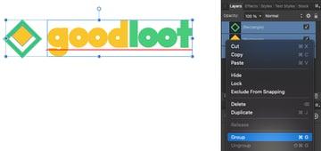 Affinity Designer Group Layers