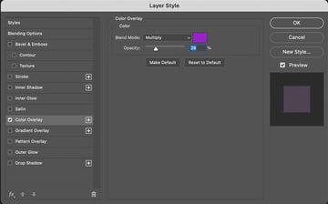 Put Texture On Text Color Overlay