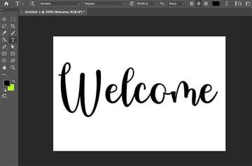 Put Texture On Text Type