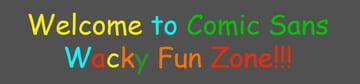Comci Sans System Font