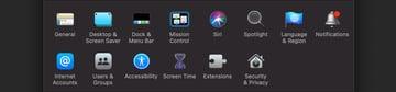 System Fonts Mac