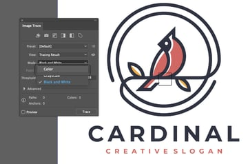 How to Trace Image In Illustrator Color Mode
