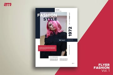 Envato Elements InDesign Fashion Flyer Template