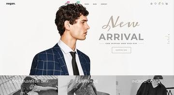 Negan - Clean Minimal Shopify Theme