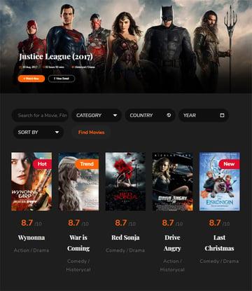 Circle - Filmmakers  Movie Studios WordPress theme